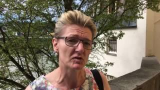 Umfrage in Passau zur Mondlandung