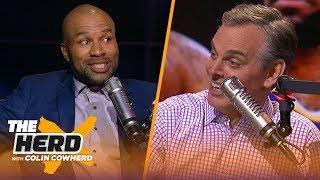 Derek Fisher on Kobe friendship, talks Lakers & Steph Curry translating in any era | NBA | THE HERD