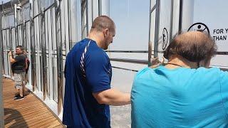 Mojo Rawley rises to the top of the Burj Khalifa