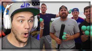Blitzball Trick Shots 3 | Dude Perfect - Reaction