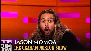 Jason Momoa Made A Grave Mistake While Shooting in Ice Cold Water - The Graham Norton Show