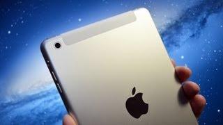 Apple iPad mini (WiFi+Cellular LTE 4G): Unboxing & Speed Demo