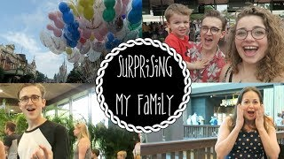 Surprising My Family In DisneyWorld | Dear Tom&Gi