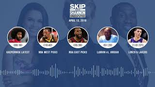 UNDISPUTED Audio Podcast (4.13.18) with Skip Bayless, Shannon Sharpe, Joy Taylor | UNDISPUTED