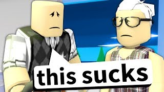 I made a Roblox game for OLD PEOPLE ONLY...