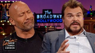 Jack Black & Dwayne Johnson Had Very Different First Kisses