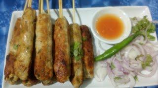 Chicken kabab | easy chicken kebab recipe
