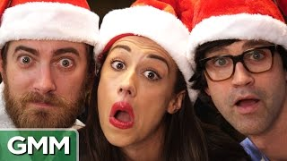 Christmas Song Challenge ft. Miranda Sings