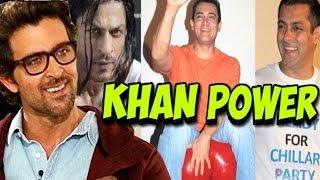 Salman Khan, Aamir Khan & Shahrukh Khan praised by Hrithik Roshan