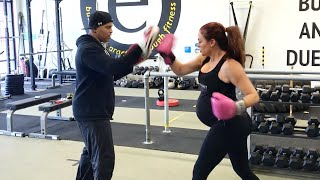 See how Maria Kanellis is staying in shape during her pregnancy: Maria