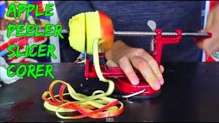 Apple Peeler/Slicer/Corer