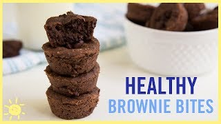 EAT | Brownie Bites (with a Secret, Healthy Ingredient)