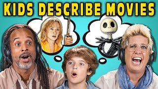 This Kid Knows Kill Bill?! | Parents Guess Movies Described By Kids (React)
