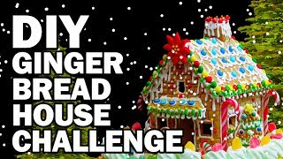 DIY Gingerbread Challenge!!! - Man Vs Corinne Vs Pin