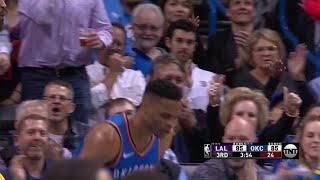 3rd Quarter, One Box Video: Oklahoma City Thunder vs. Los Angeles Lakers