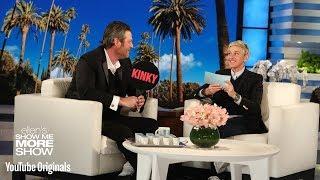 Blake Shelton Plays Kinky or Drinky with Ellen
