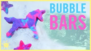 DIY | Unicorn Bubble Bars (Solid Bubble Bath)
