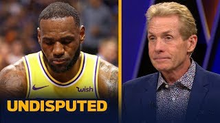 Skip Bayless: LeBron needs to go full MJ or Kobe and close games for the Lakers | NBA | UNDISPUTED