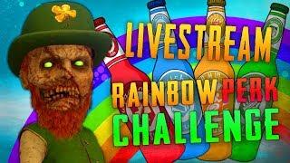 The Rainbow Perk Challenge (Call of Duty Zombies)