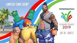 Overwatch Seasonal Event | Summer Games 2019