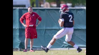 Alabama plays sometimes kid with former Tennessee coach Butch Jones