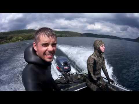 подводная охота из раздела рыбалка