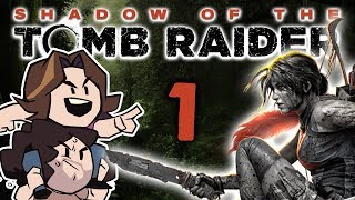 Shadow of the Tomb Raider: Crash Landing - PART 1 - Game Grumps