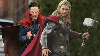 Dr Strange And Thor Post Credit Scene.