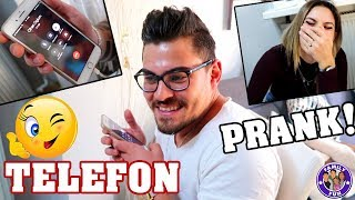 Mega TELEFON PRANK - Mama AYNUR ist entführt! - Family Fun