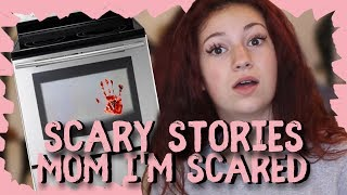 """Danielle Bregoli Reacts to Scary Story """"Mom I'm Scared"""""""