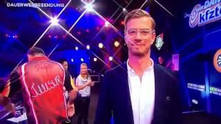 """""""Timo Werner ist ein Hurensohn"""" bei der Promi-Dart WM auf Pro7"""