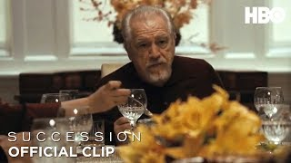 'Thankful' Ep. 5 Official Clip | Succession | HBO