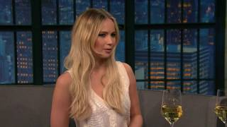 Jennifer Lawrence Seth Meyers New Year Special 2016 full Interview