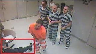 Gefängniswächter von Inhaftierten gerettet