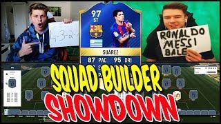 97 TOTS SUAREZ SQUAD BUILDER SHOWDOWN!! ⚽⛔️😝 - FIFA 17 ULTIMATE TEAM DEUTSCH gegen PROOWNEZ
