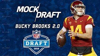 2018 NFL Mock Draft Post Combine 2.0 | Bucky Brooks | NFL Highlights