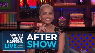 After Show: Zoe Kravitz Talks About Katy Perry And Taylor Swift Feud   WWHL