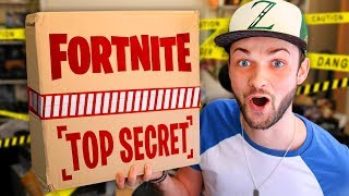 FORTNITE sent me a  *SECRET PACKAGE* - WHAT