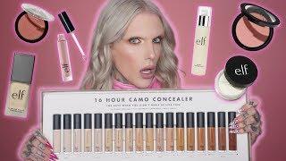 Full Face Using Only E.L.F. Makeup... I'm Speechless!