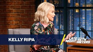 Kelly Ripa Looks Back on Co-Hosting LIVE with Donald Trump