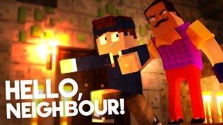 Minecraft - HELLO NEIGHBOUR | NACHBAR SPERRT MICH EIN!!