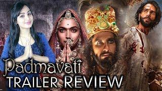 Padmavati Trailer Review   Ranveer Singh   Shahid Kapoor   Deepika Padukone