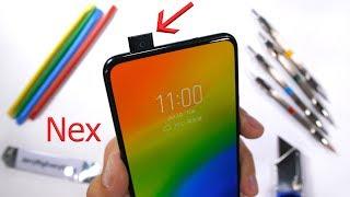 Vivo Nex S - Hidden Camera Durability Test! - Scratch and Bend