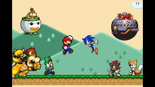 Super Mario vs Sonic the Hedgehog