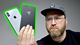 How LOUD Is The Razer Phone? (vs iPhone X, Pixel 2 XL, Note 8)