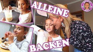 ERSTES  MAL ALLEINE BACKEN | BACKERLEBNIS MIT FREUNDIN | MILEYS WELT