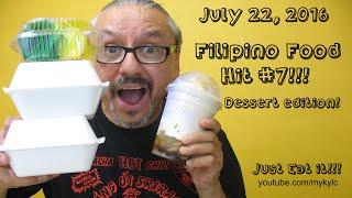 Filipino Food Hit #7!!  Dessert Edition!  Get it on!