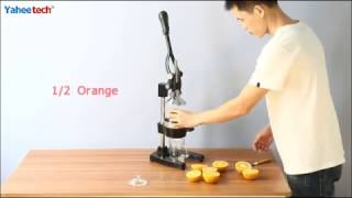 Hand Press Manual Fruit Juicer | Yaheetech