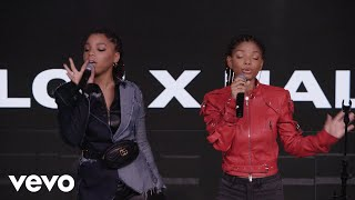Chloe x Halle - Warrior (Chloe x Halle live on the Honda Stage at iHeartRadio New York)