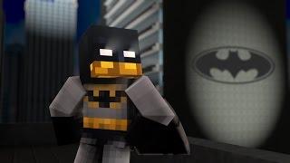 BATMAN IN MINECRAFT!!